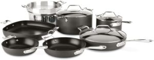 All-Clad 6000-7 SS Copper Core 5-Ply Bonded Dishwasher Safe Cookware Set
