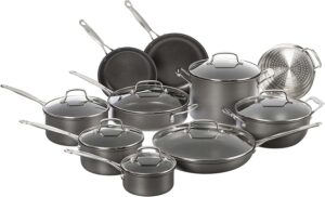 Cuisinart Chef's Classic Non-Stick Hard Anodized 17 Piece Set