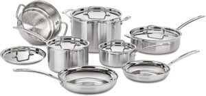 Cuisinart MCP-12N Multiclad Pro 12-Piece Cookware Set